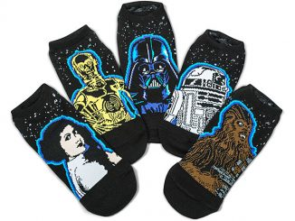 Star Wars 40th Anniversary 5-pack Ladies' Socks