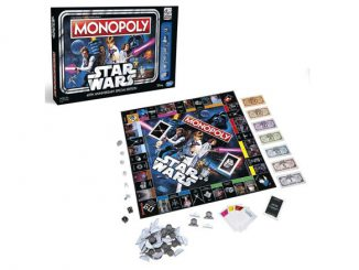 Star Wars 40th Anniversary Edition Monopoly Game