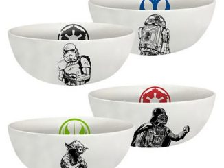Star Wars 6-Inch Ceramic Bowl 4-Pack