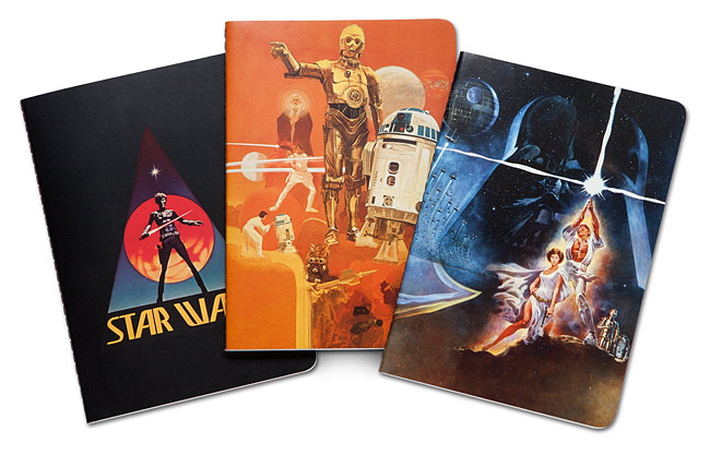 Star Wars A New Hope 40th Anniversary Notebook Collection