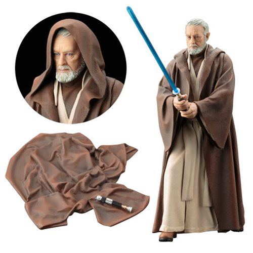 Star Wars A New Hope Obi-Wan Kenobi ArtFX+ Statue