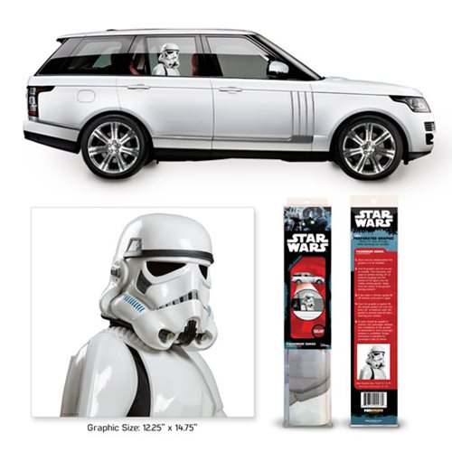 Star Wars A New Hope Stormtrooper Passenger Series Window Decal