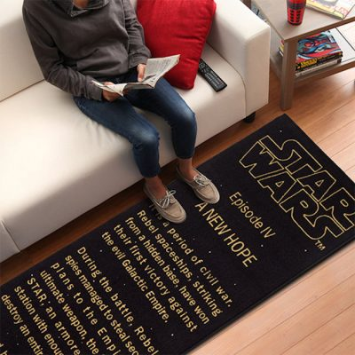 Star Wars A New Hope Title Crawl Floor Runner