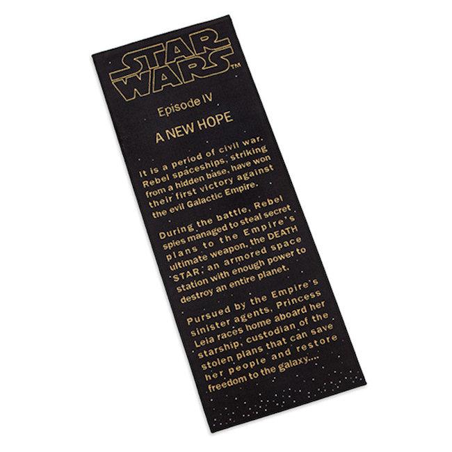 Star Wars A New Hope Title Crawl Floor Runner