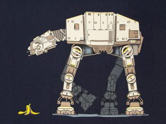 Star Wars AT-AT Banana Trip T-Shirt