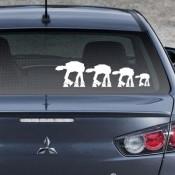 Star Wars AT-AT Family Car Decals