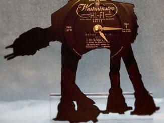 Star Wars AT-AT Vinyl Record Clock