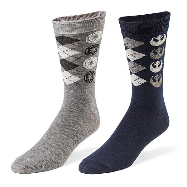 Star Wars Argyle Dress Socks