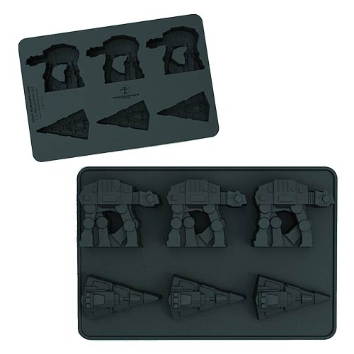 Star Wars At-At and Star Destroyer Ice Cube Tray
