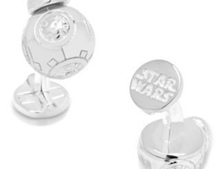 Star Wars BB-8 3D Sterling Silver Cufflinks