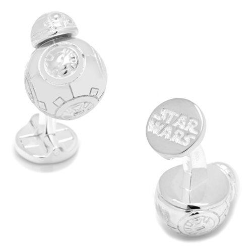 Star Wars BB-8 3D Sterling Silver Cufflinks