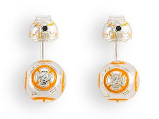 Star Wars BB-8 Enamel Ear Jacket Earrings