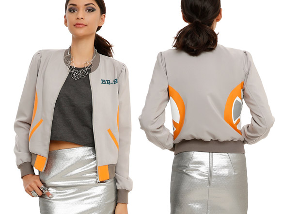 Star Wars BB-8 Girls Bomber Jacket