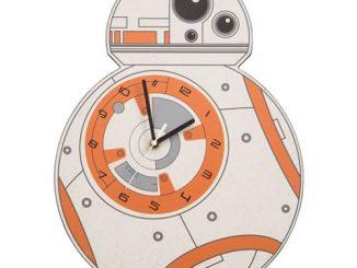 Star Wars BB-8 Shaped Clock