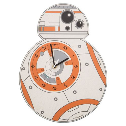 star wars bb 8 shaped clock