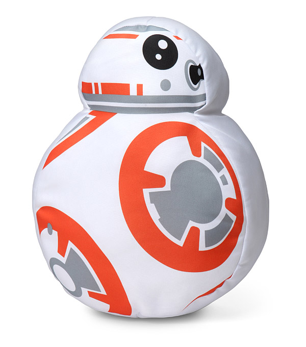 This star wars bb 8 throw pillow is ready to stop rolling long enough