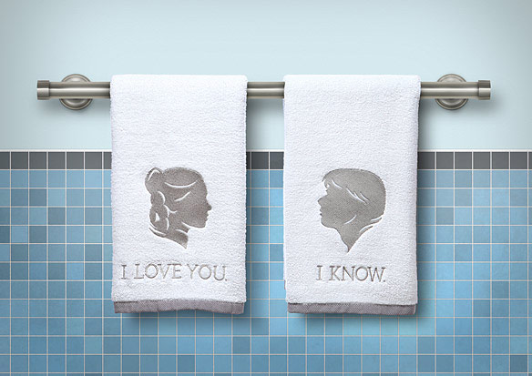 Star Wars Bathroom Hand Towels