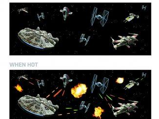 Star Wars Battle Scene Heat Change Mug