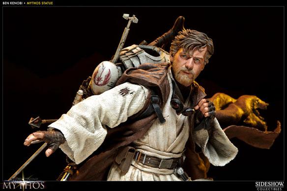 Star Wars Ben Kenobi Mythos Polystone Statue