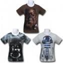 Star Wars Big Face T-Shirts