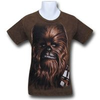 Star Wars Big Face T-Shirts - Chewbacca