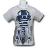 Star Wars Big Face T-Shirts - R2D2