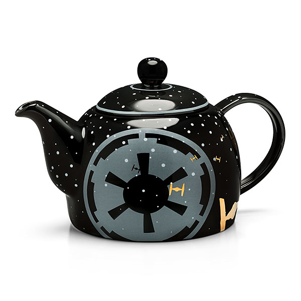 Star Wars Black Empire Ceramic Teapot