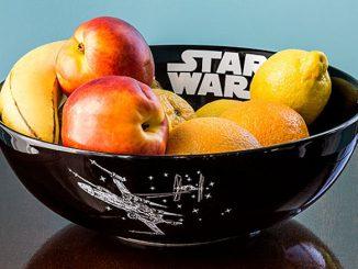 Star Wars Black & White Ceramic Serving Bowl
