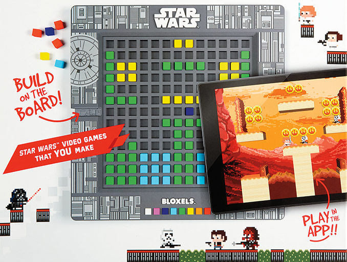 Star Wars Bloxels Video Game Builder