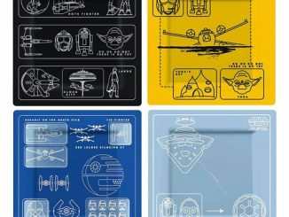 Star Wars Blueprints Plate Set