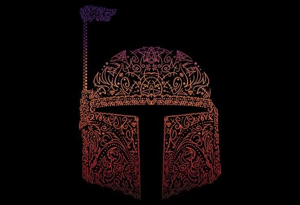 Star Wars Bob Fett Neon Shirt