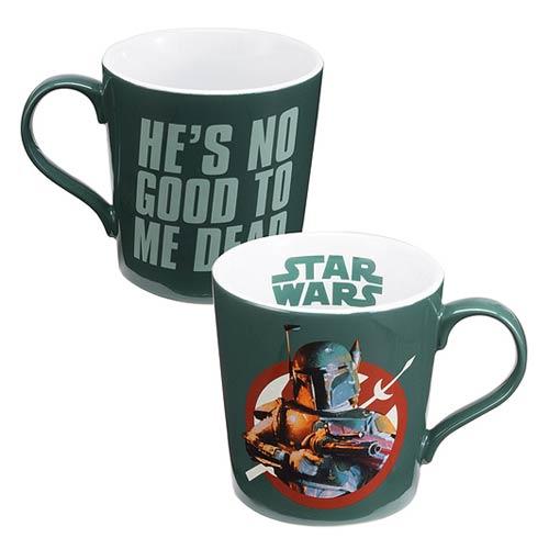 Star Wars Boba Fett 12 oz. Ceramic Mug