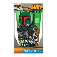 Star Wars Boba Fett 16 oz. Pint Glass