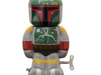Star Wars Boba Fett 7 1 2-Inch Wind-Up Tin Toy