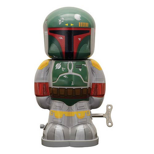 Star Wars Boba Fett 7 1 2-Inch Wind-Up Tin Toy