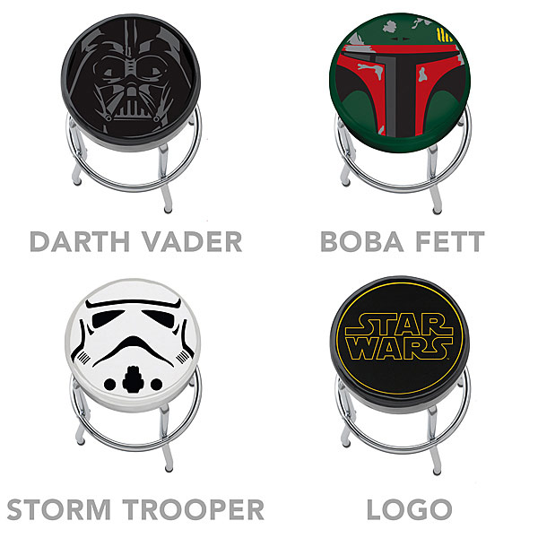 Star Wars Boba Fett Bar Stool