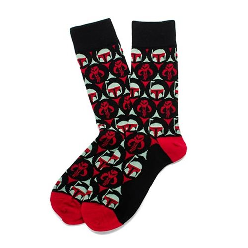 Star Wars Boba Fett Black Socks