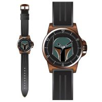 Star Wars Boba Fett Bronze Case Strap Watch
