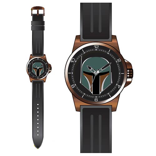 Star Wars Boba Fett Bronze Case Strap Watch