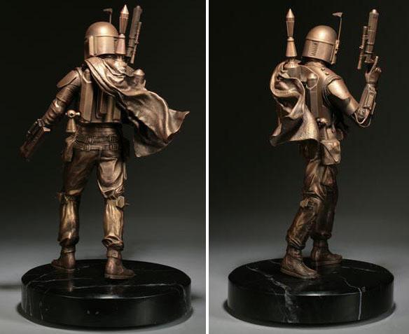 Star Wars Boba Fett Bronze Statue
