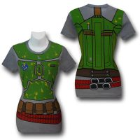 Star Wars Boba Fett Costume Juniors TShirt