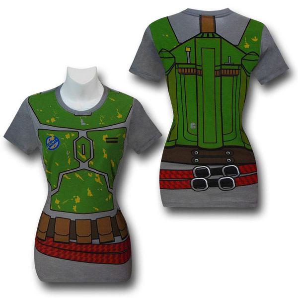 Star Wars Boba Fett Costume Juniors TShirt