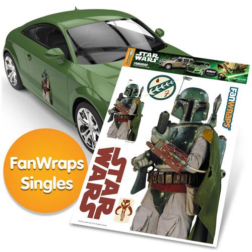 Star Wars Boba Fett Fanwraps Car Decal