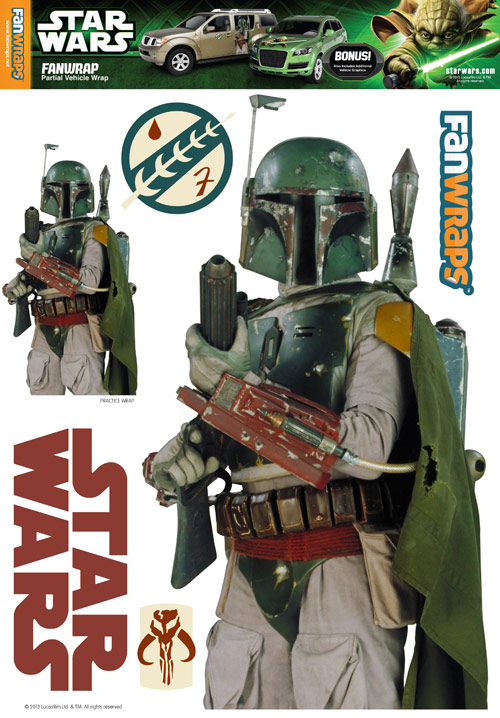 Star Wars Boba Fett FanWraps