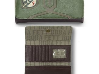 Star Wars Boba Fett Faux Leather Trifold Wallet