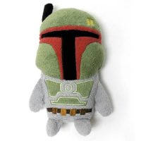 Star Wars Boba Fett Footzeez Plush