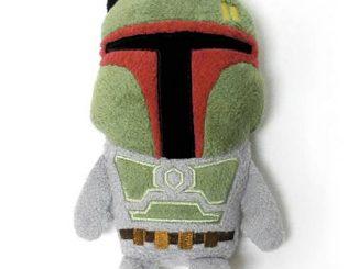 Star Wars Boba Fett Footzeez Plush