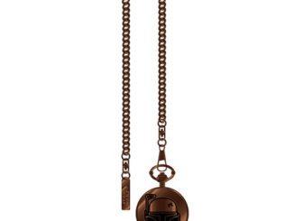 Star Wars Boba Fett Helmet Icon Bronze Tone Pocket Watch