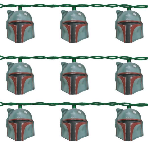Star Wars Boba Fett Helmet Light Set