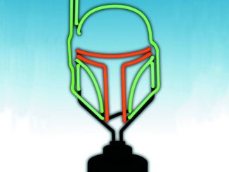 Star Wars Boba Fett Helmet Neon Sign